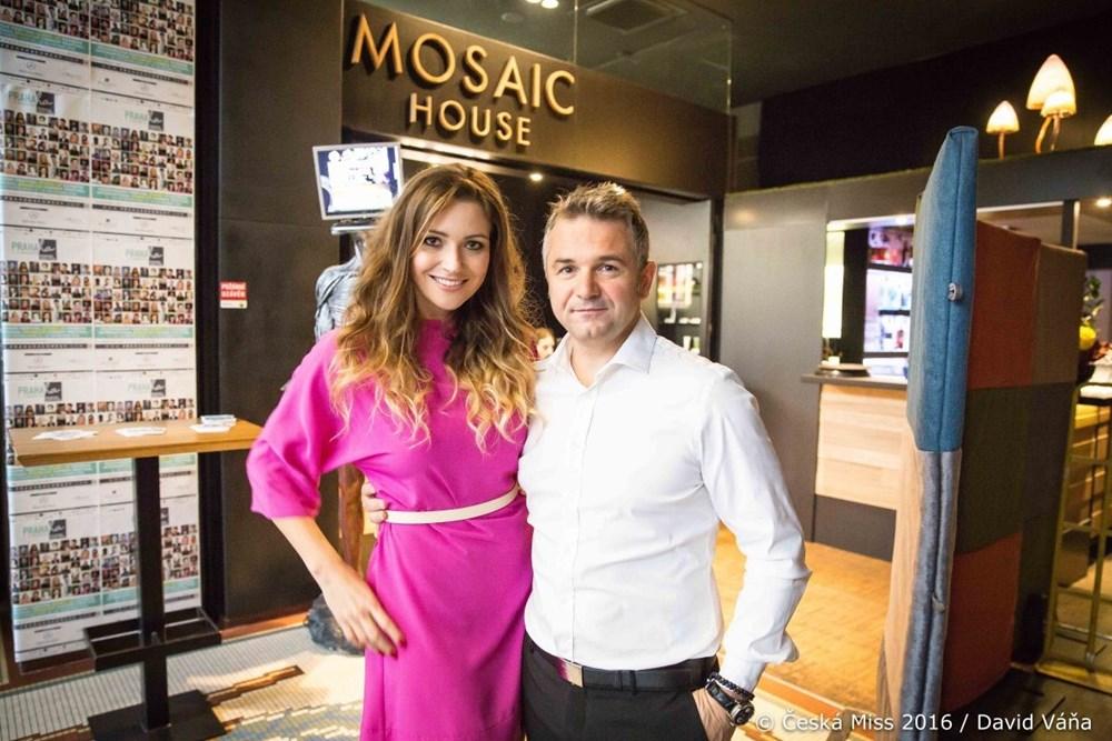 Popis: Martin Ditmar a Eva Čerešňáková představili inovace soutěže Česká Miss.