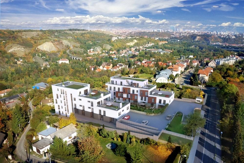 Popis: Vizualizace Panorama Hlubočepy.