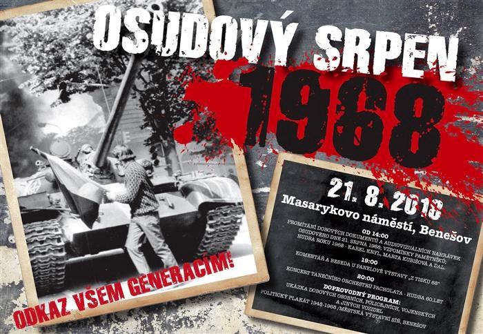 Osudový srpen 1968 v Benešově