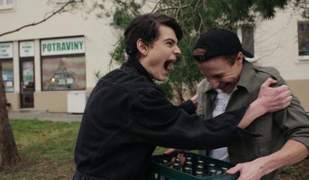 Popis: Josef Trojan a Šimon Fridrich ve filmu Abstinent.