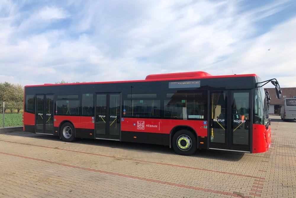 Popis: Nové autobusy MHD Příbram.
