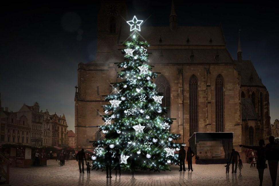 Jedna z variant ozdob vánočního stromu v letošním roce.